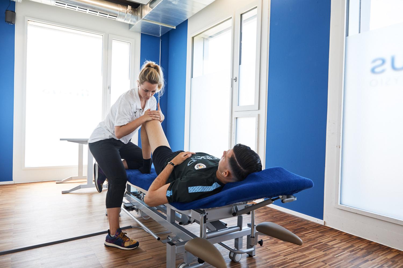 Physiotherapie unterstützt Sie.